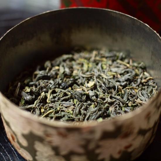 熊本・船本さんの釜炒り茶