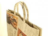 土佐の新聞バッグ