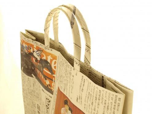 新聞バッグ