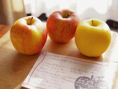 りんごの季節もいいもんだナ