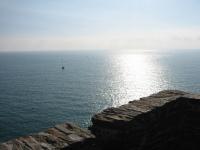 エーゲ海に浮かぶ舟