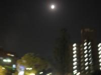 岡山でスーパームーン